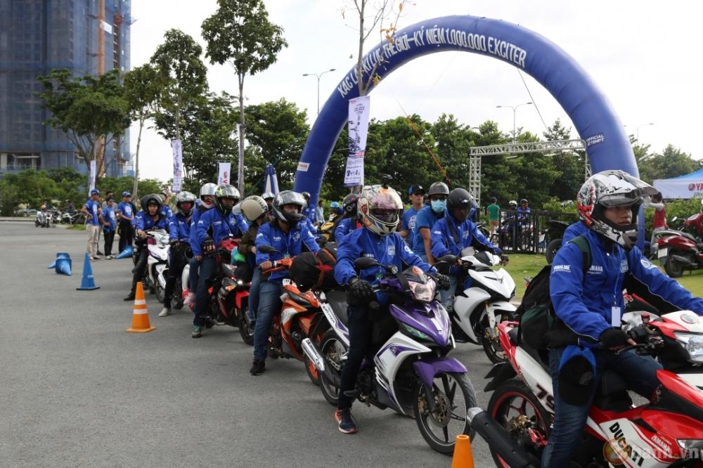 Yamaha Motor Viet Nam xac lap 2 ky luc Guinness the gioi trong su kien ky niem 1000000 xe Exciter - 3
