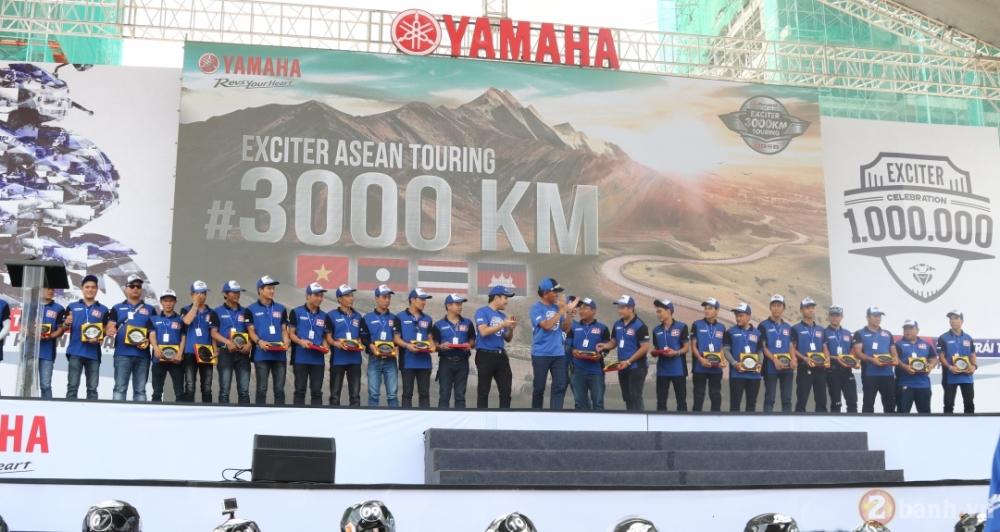 Yamaha Motor Viet Nam xac lap 2 ky luc Guinness the gioi trong su kien ky niem 1000000 xe Exciter - 5