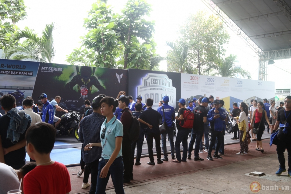Yamaha Motor Viet Nam xac lap 2 ky luc Guinness the gioi trong su kien ky niem 1000000 xe Exciter - 10