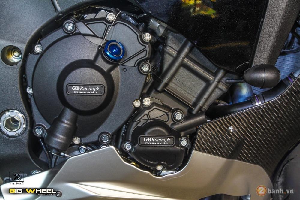 Yamaha R1M 2017 ban nang cap khung ngoai suc tuong tuong tu dan choi Thai - 5