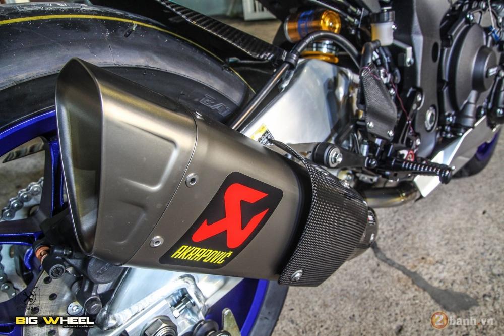 Yamaha R1M 2017 ban nang cap khung ngoai suc tuong tuong tu dan choi Thai - 8