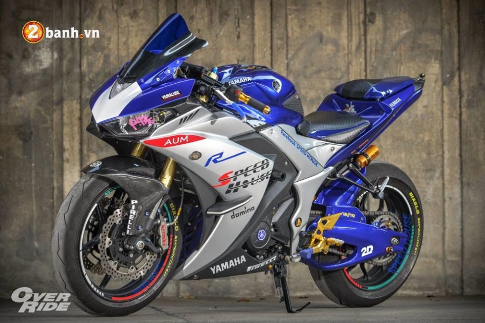 Yamaha YZFR3 hoan hao trong ban do khung long Full Sport Option - 2