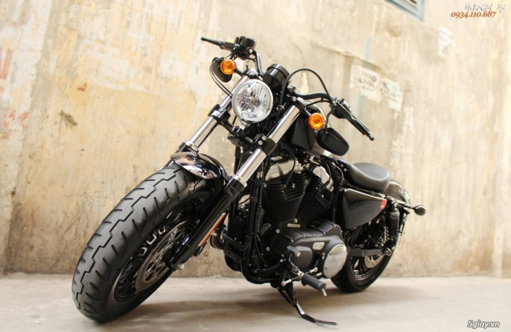 ___ Can Ban ___HARLEY DAVIDSON FortyEight 1200cc ABS 2016___ - 2