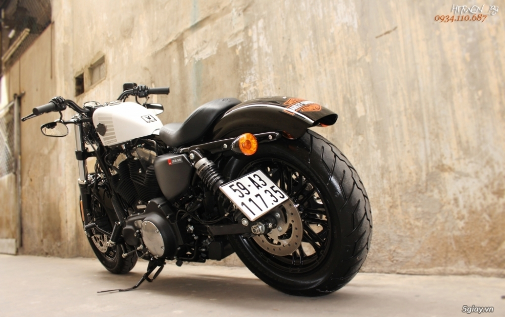 ___ Can Ban ___HARLEY DAVIDSON FortyEight 1200cc ABS Limited 2017___ - 2