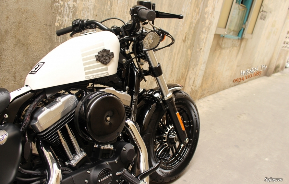 ___ Can Ban ___HARLEY DAVIDSON FortyEight 1200cc ABS Limited 2017___ - 6
