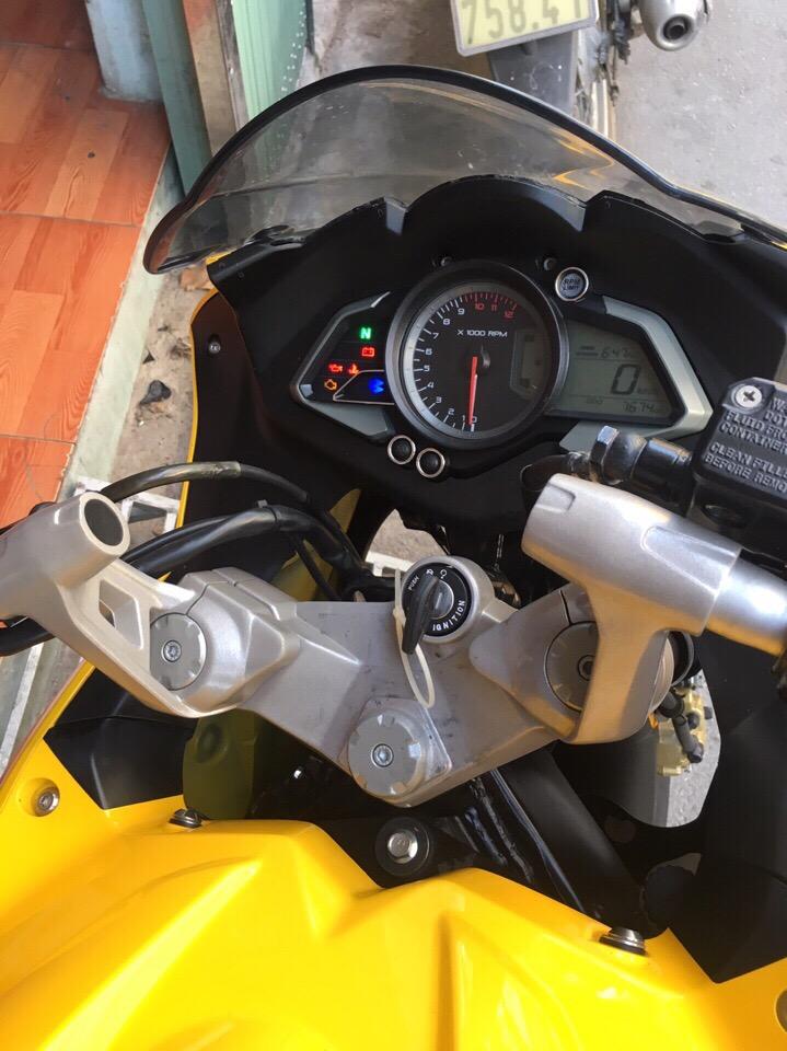 Bajaj RS200 2016 Xe chay 1800 cay so xe nhu moi tinh dap thung khach hang ve co the dang ky ten - 6