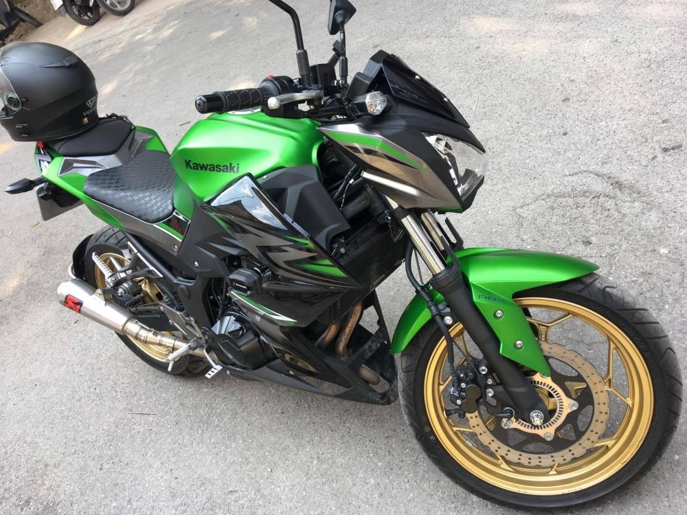 Ban Kawasaki Z300 2017 - 2