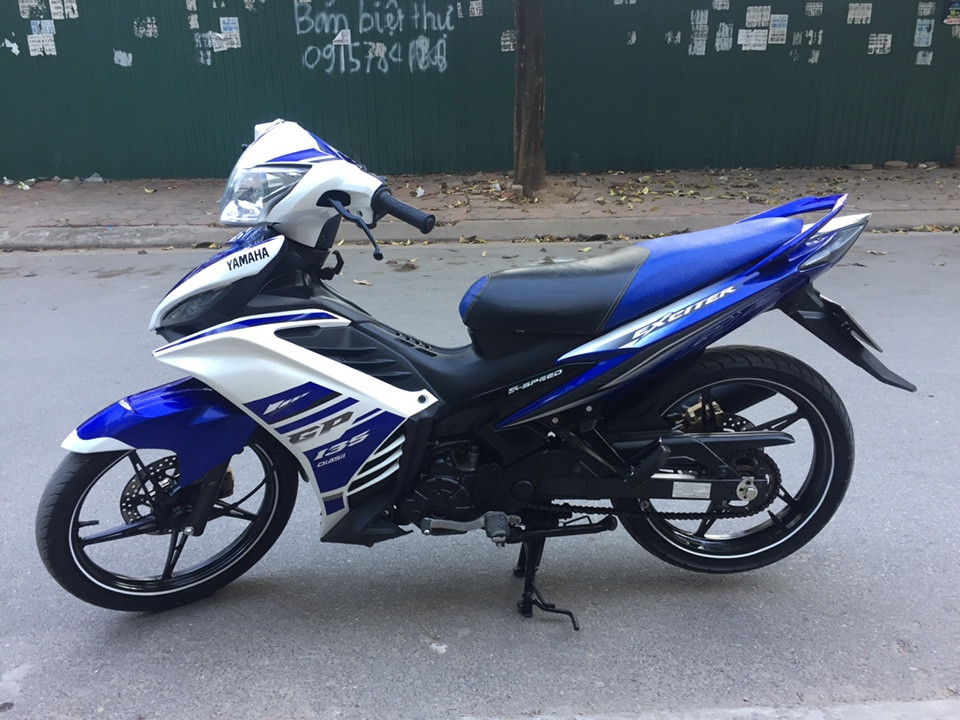 Ban xe Yamaha Exciter 135GP nguyen thuy may chat 2O14 - 2