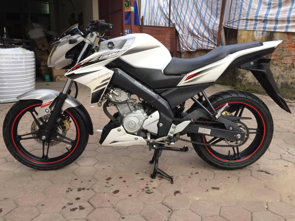 Ban Yamaha Fz150i Trang Xe dang ki 2014 - 10