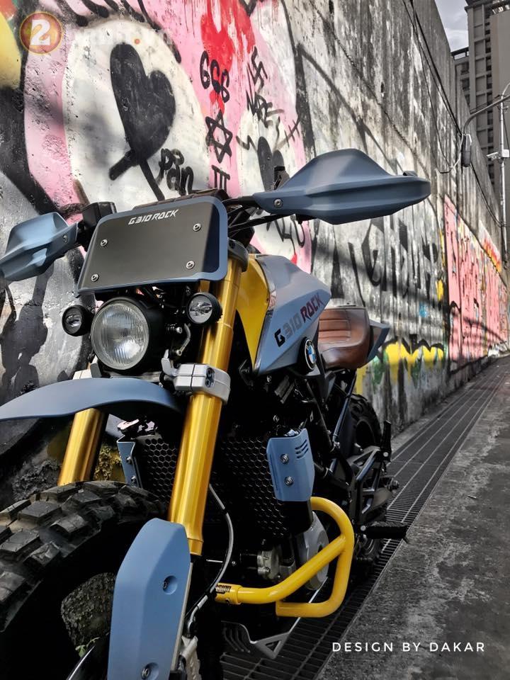 BMW G310R do lot xac day ngoan muc cua biker Dai Loan - 4