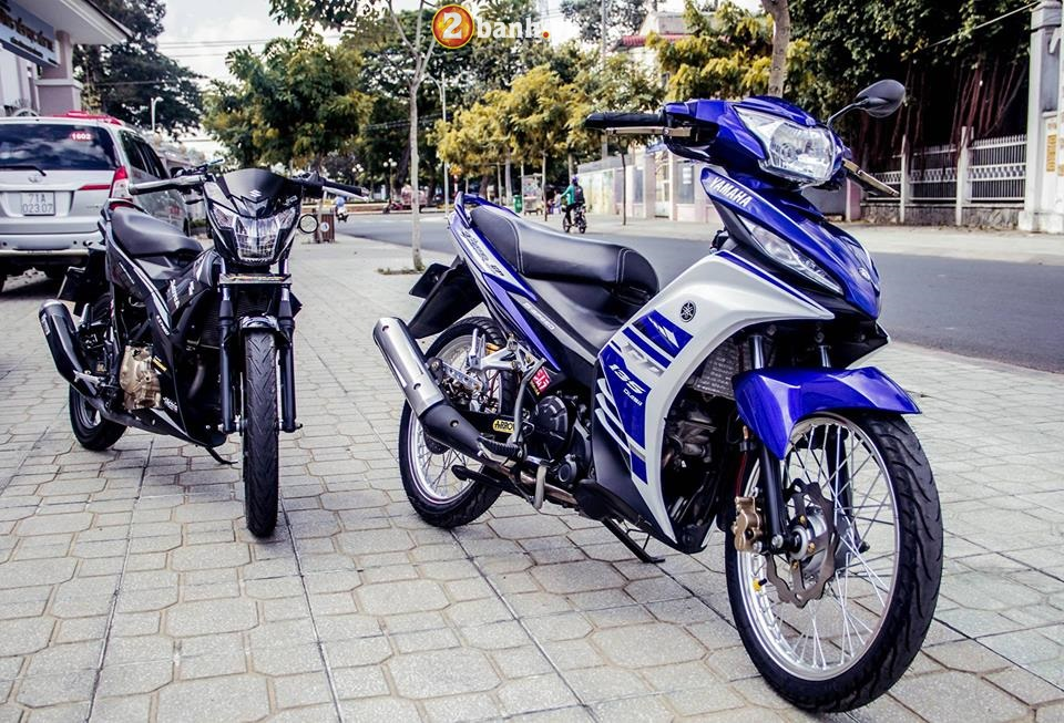 Bo anh Exciter 135 do khoe dang cung Raider Fi day ca tinh - 3
