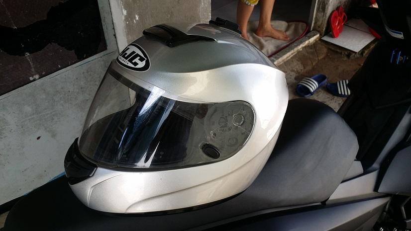 Bon HJC Cool Storm Size XL loai Mua Honda Winner tang mau Bac - 2