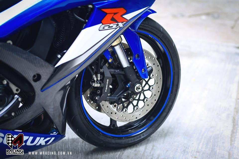 Ca heo xanh mo do GSX R1000 bong bay duoi gam Garage - 5