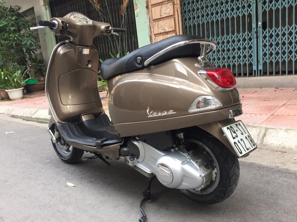Can ban Vespa Lx 125ie phun xang dien tu chinh chu vang xam bien HN - 6
