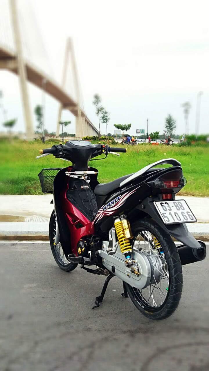 Sirius Spark Nano den tu mot Biker Sirius Tien Giang mien Tay song nuoc - 2