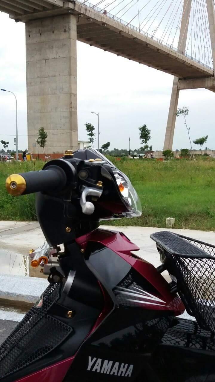 Sirius Spark Nano den tu mot Biker Sirius Tien Giang mien Tay song nuoc - 4