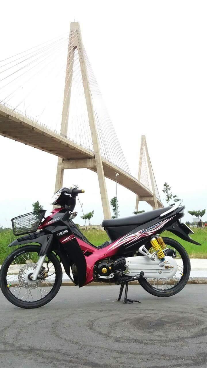 Sirius Spark Nano den tu mot Biker Sirius Tien Giang mien Tay song nuoc - 8