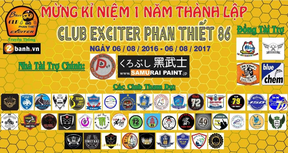 Club Exciter Phan Thiet 86 mung ki niem I nam thanh lap