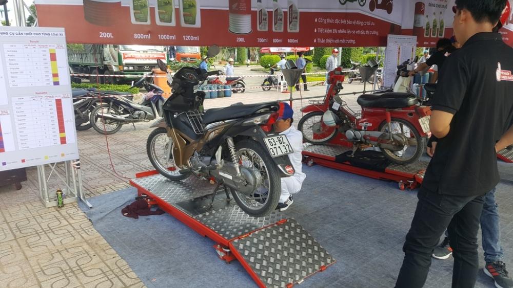Cung den voi chuong trinh Honda Tron Niem Tin trong thang 08 - 5