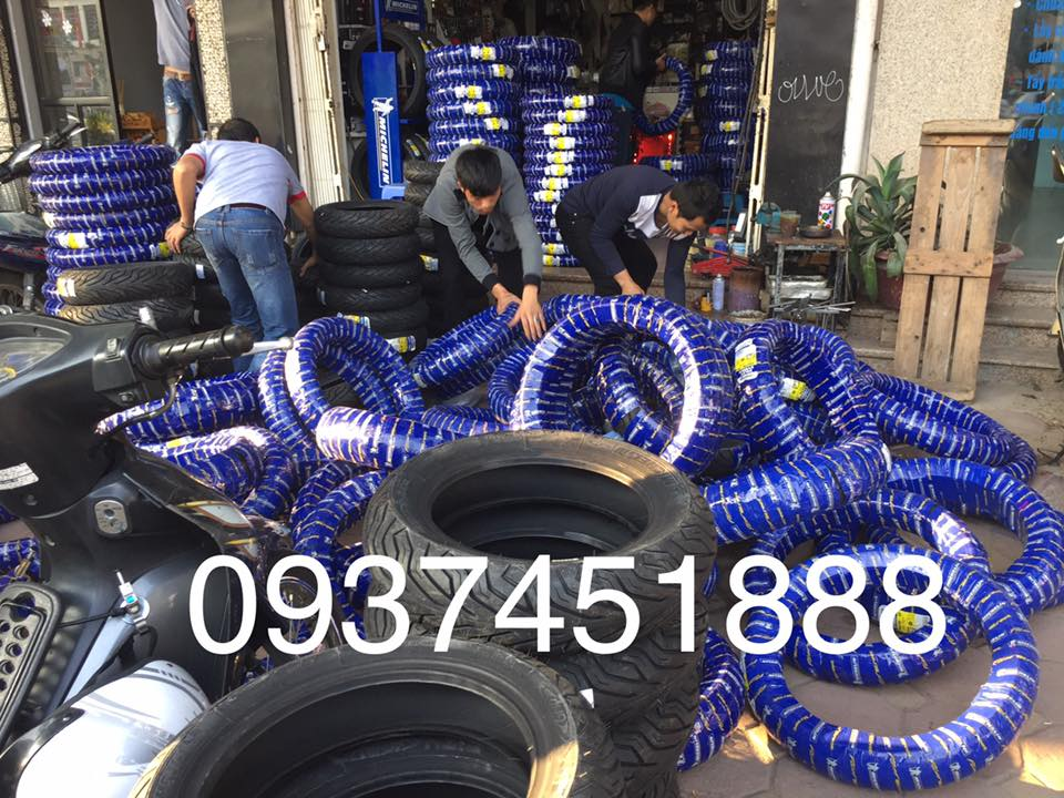 Dai ly phan phoi lop Michelin xe may Bo si toan quoc Bac Trung Nam - 11