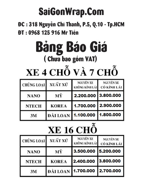 DAN CACH NHIET O TO CHUYEN NGHIEP UY TIN SaiGonWrapCom Dich Vu Chuyen Nghiep - 6