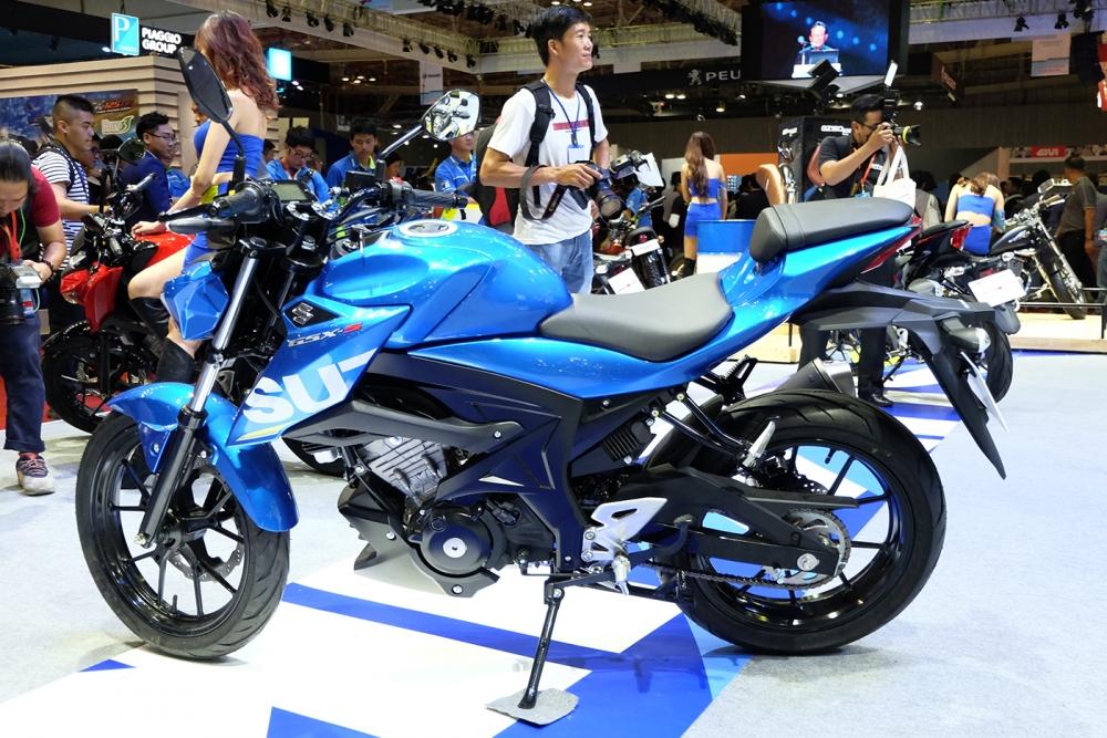 Danh gia xe GSXS150 2017 mau Naked Bike moi nhat cua hang Suzuki - 2