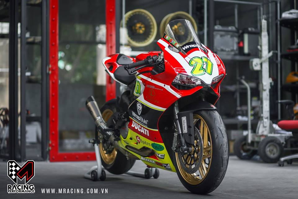 Ducati 899 hoan hao trong ban do tem dau so 27 - 2
