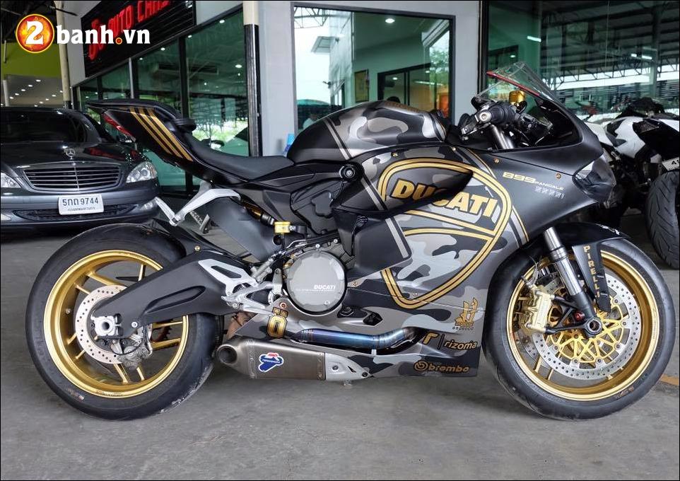 Ducati 899 Panigale do noi bat den an tuong cung version Camo - 2