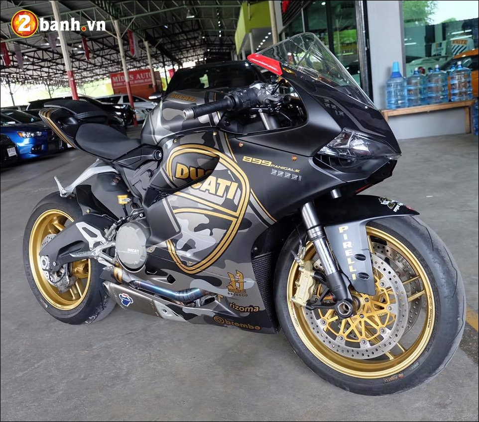 Ducati 899 Panigale do noi bat den an tuong cung version Camo - 12