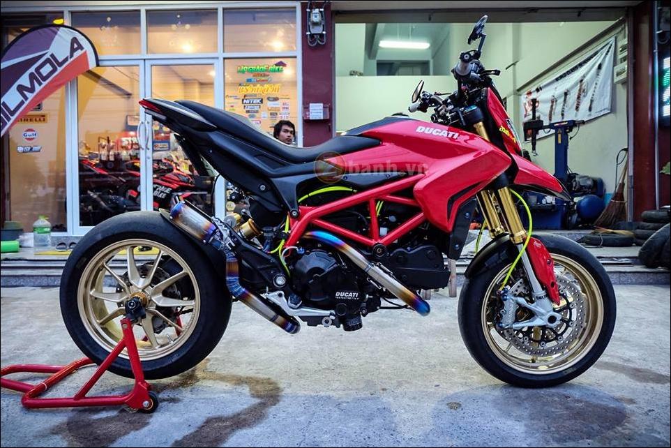 Ducati Hypermotard do da sac qua y tuong cua biker Thai - 11