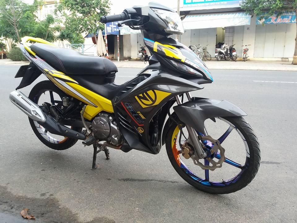 Exciter 135 nhe nhang tao buc pha cua biker Tay Ninh