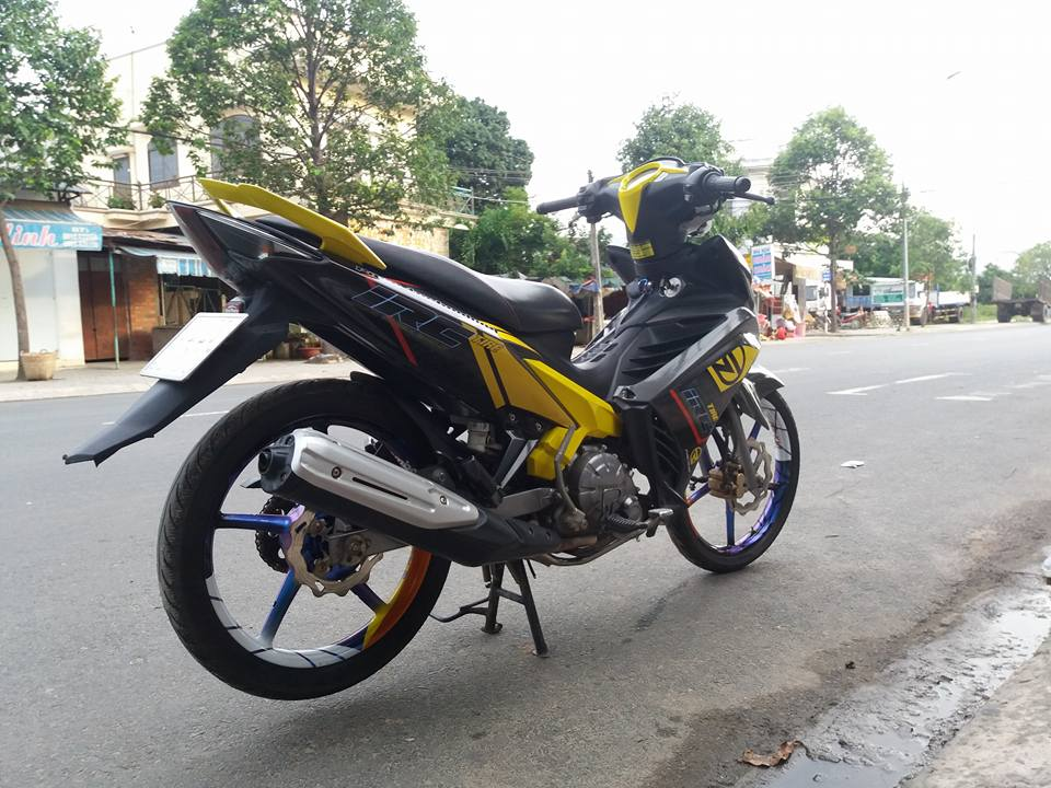 Exciter 135 nhe nhang tao buc pha cua biker Tay Ninh - 5