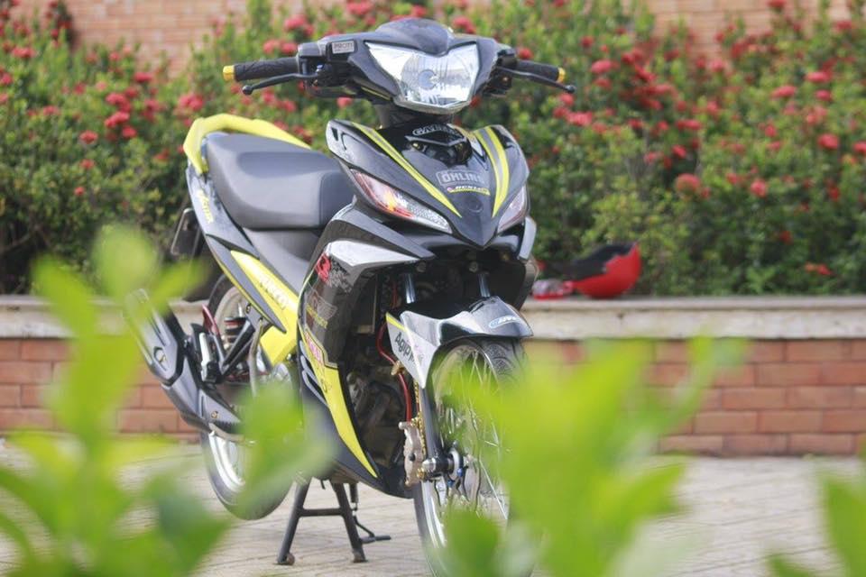 Exciter 135 sac vang nhe nhang don binh minh cua biker Binh Thuan - 3
