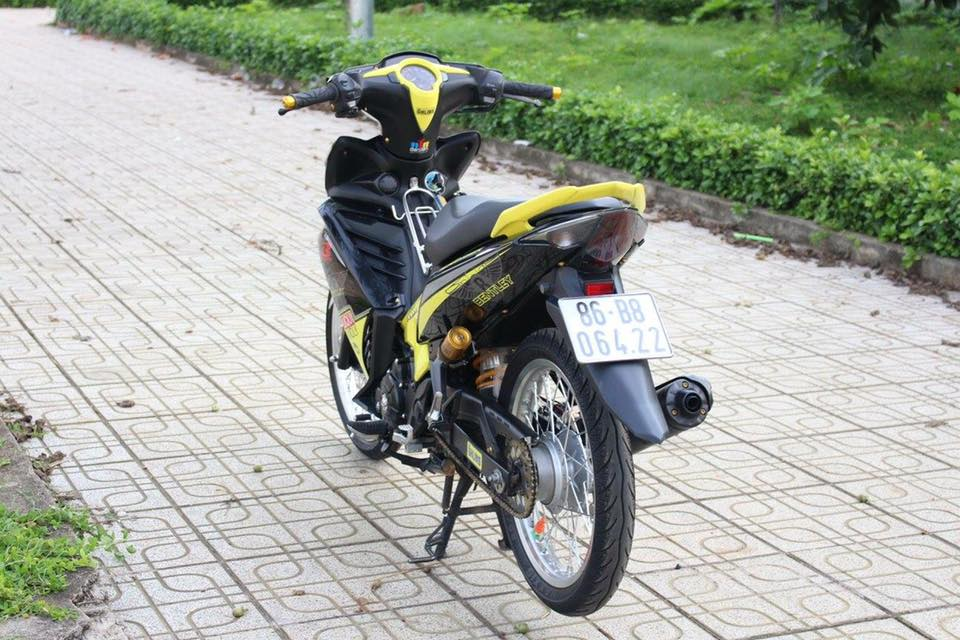 Exciter 135 sac vang nhe nhang don binh minh cua biker Binh Thuan - 6