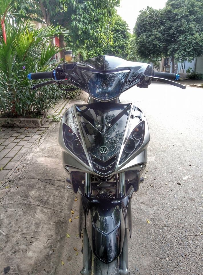 Exciter 135cc chien binh duong pho pha cach cuc ky ba dao - 4