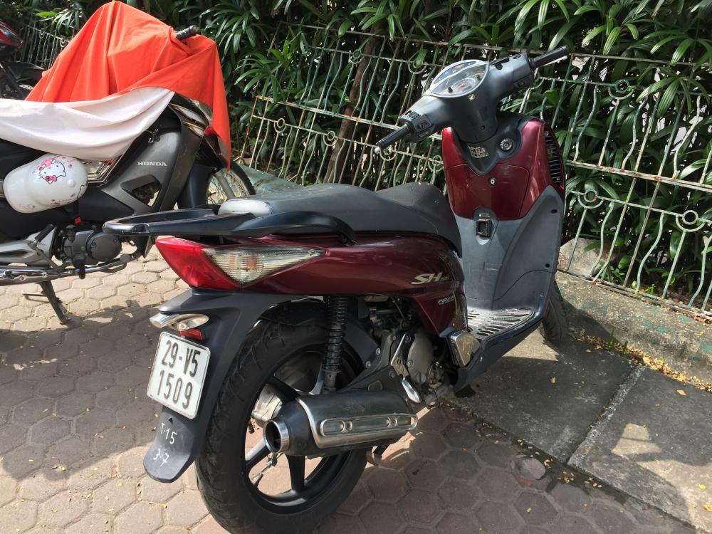Ha Noi Ban xe Honda Sh 150i mau do - 3