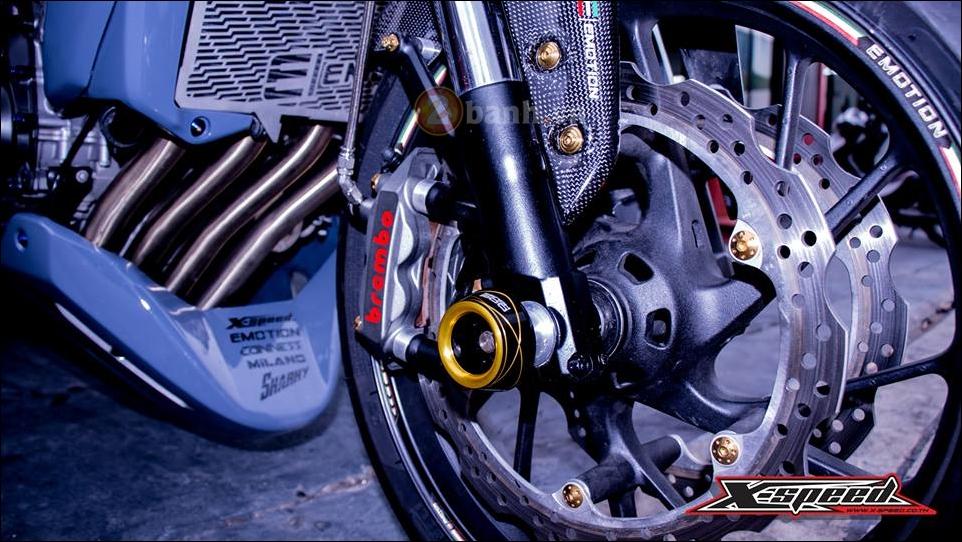 Honda CB650F do lot xac hoan thien cung phong cach Cafe Racer - 6