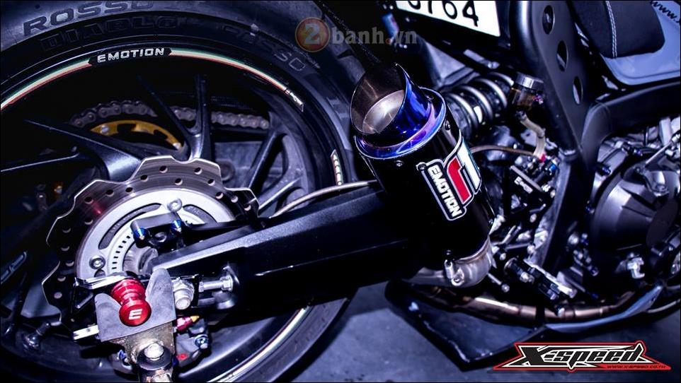 Honda CB650F do lot xac hoan thien cung phong cach Cafe Racer - 8