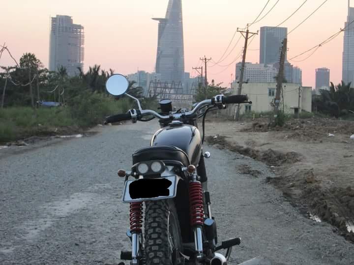 Honda GL 125 do Tracker qua cam nhan cua chang sinh vien cong nghe - 18