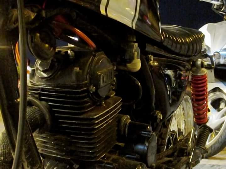 Honda GL 125 do Tracker qua cam nhan cua chang sinh vien cong nghe - 30