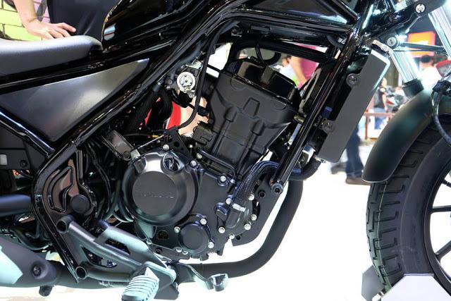Honda Rebel 300 ABS doi 2017 co gia hon 170 trieu da co mat tai Thuong Motor - 2