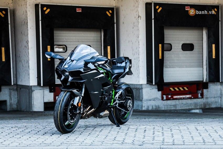 Kawasaki Ninja H2 ke phuc vu nhung tin do toc do dich thuc