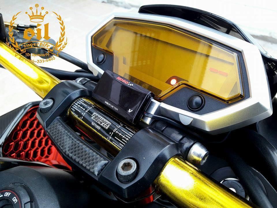 Kawasaki Z1000 nong bong ben dan chan chrome choi chang - 5