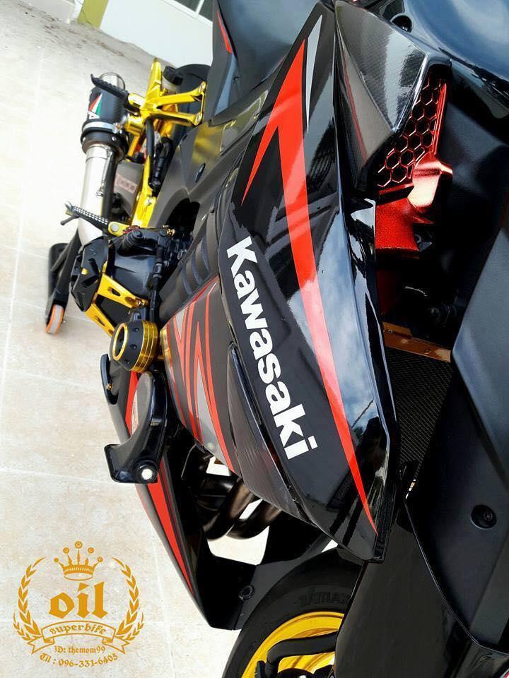 Kawasaki Z1000 nong bong ben dan chan chrome choi chang - 8