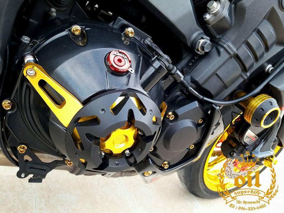 Kawasaki Z1000 nong bong ben dan chan chrome choi chang - 9