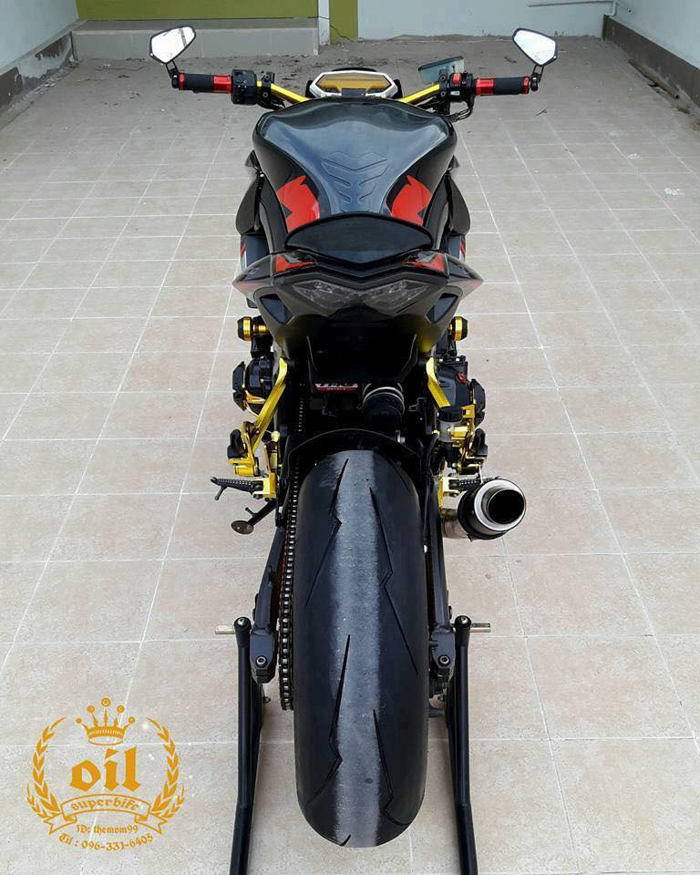 Kawasaki Z1000 nong bong ben dan chan chrome choi chang - 10
