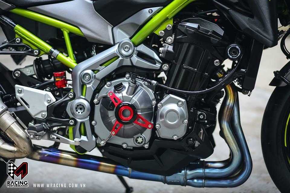 Kawasaki Z900 Pha cach cung phong cach Touring - 4