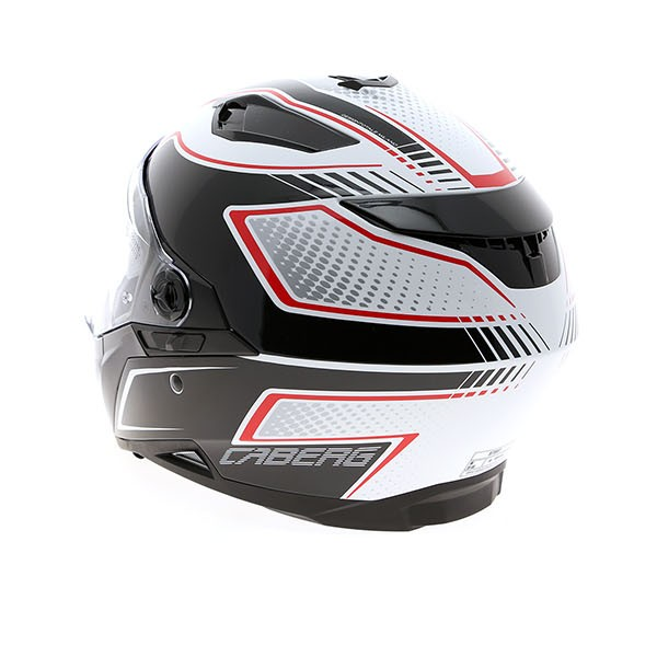 Motobox Mu Caberg Stunt Blade WhiteRedBlack - 3