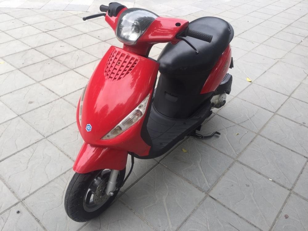 Piaggio Zip 100 mau do 2008 nhap khau Y 29Y4 1158 - 4