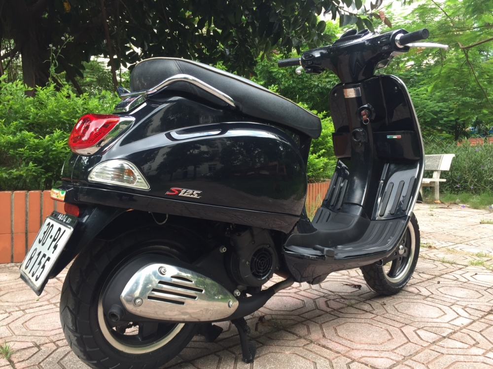 Rao ban Vespa S 125 den vuong chinh chu su dung con rat moi 30tr - 4